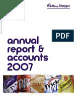 Cadbury 2007 Annual Report & Accounts