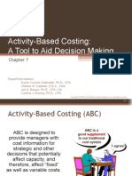 Controllership Ch.8- activity based costing