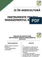 Riscuri in Agricultura FGCR1