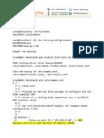 DNS Configuration Lab