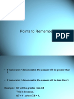 Points to Remember1