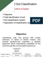 V. Soil Classification