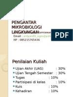 1. Pengantar Mikrobiologi Lingkungan .ppt