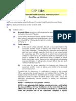 GPF Rules