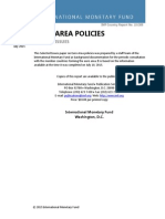 IMF - Euro Area Policies