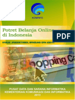 Potret Belanja Online Di Indonesia