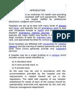 Audit of Hospitals