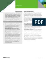 VMware VSphere Enterprise DataSheet DS En