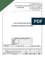 PC00PR002 Cost Control Procedure Rev.02