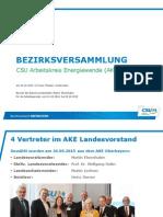 2015-10-10 AKE Obb - Bezirksversammlung