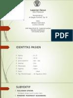Laporan Kasus Pterigium (20 Agust 2015)