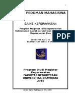 Silabus Sains Keperawatan s2 2015