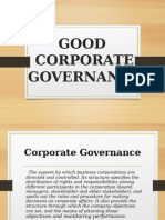 9 Good Governance