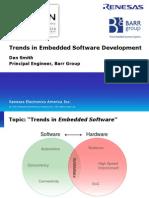 Trends in Embedded Software Development