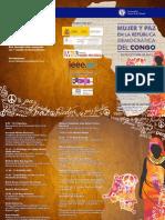 Jornada Mujer y Paz en la República Democrática del Congo