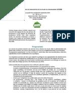 Programme des Journées nationales UCSDB Avignon 24 et 25 Septembre 2015
