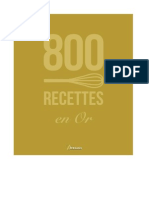 800 Recettes en Or