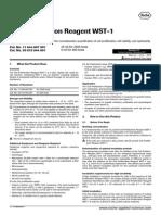 WST 1 Protocolo Roche