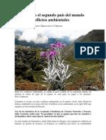 Colombia Es El Segundo País Del Mundo Con Más Conflictos Ambientales