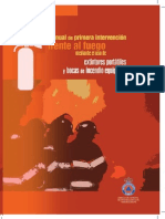 Manual de Primera Intervencion Fuego Uso Extintores