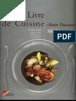 Grand Livre Cuisine Alain Ducasse