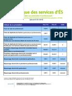 Catalogue Services ES