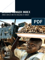 2015 Global Hunger Index Armed Conflict and the Challenge of Hunger