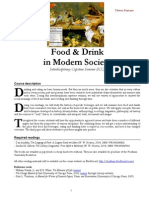 HIST 4104 Food and Drink in Modern Society