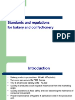 Standards and Regulations for Bakery and Confectionery l