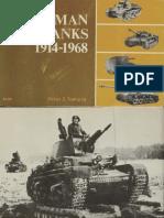 German Tanks 1914-1968