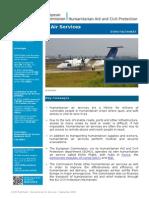 Humanitarian Air Services En
