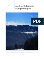 MA Economic Due Diligence Report Q2 FY 2015