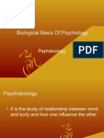 Biological Basis of Psychology