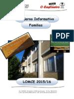 Lomce - Caderno Informativo Familias