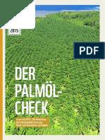 Palmöl Check 2015 - Scorecard
