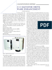 Dsd 412 Elevator Drive Software Enhancement