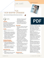 FINAL COC Tick-Borne Disease