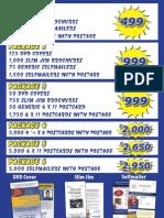 NGFS Print Mailer Pricing