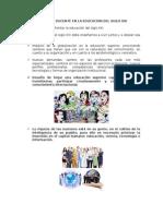 El Rol Del Docente en La Educación Del Siglo Xxi-ideas Principales