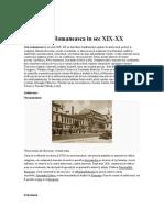 Arta Romanesca Sec 19-20
