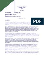 Timbol vs Comelec en Banc G.R. No. 206004 February 24, 2015