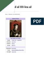 Richard Al III-lea Scurta Istorie