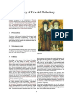 History of Oriental Orthodoxy