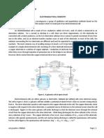 (4) Electroanalytical Chemistry