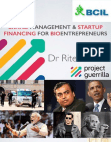 Study on Brand Management and Startup Financing
