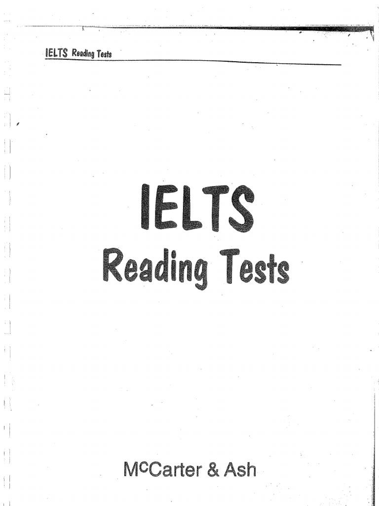 New Ielts Reading Tests
