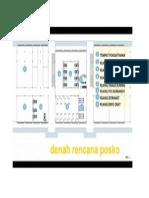 Denah Posko