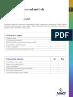 Cuestionario Para El Análisis de La Piel