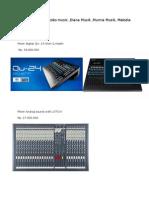 Mixer Digital QU