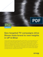 Case Study of Streax TV Campaigns By Amagi Media